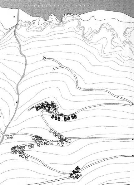 mapa fisterre