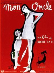 Cartell Mon Oncle. Jacques Tati